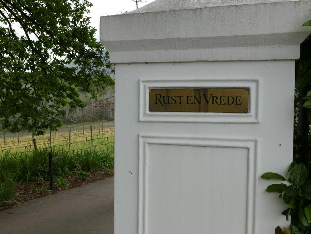 rust en vrede winery