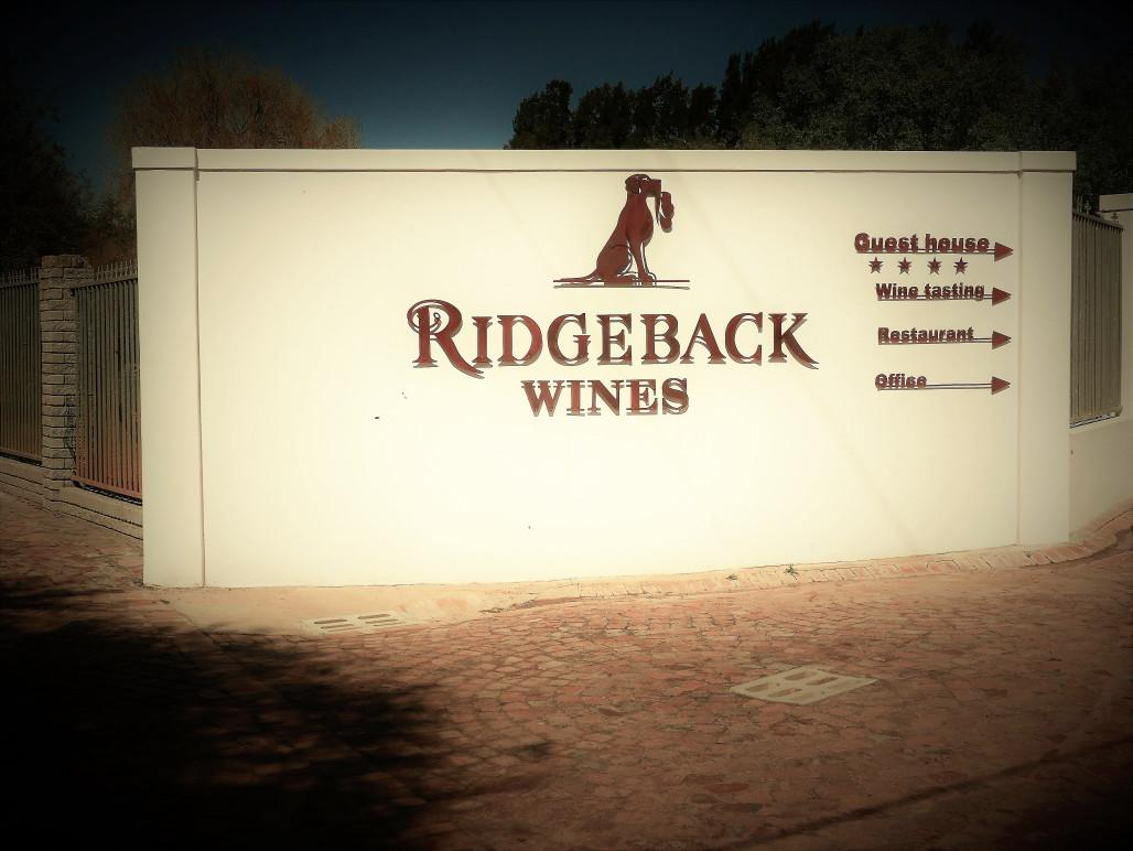 Ridgeback Wines South-Africa