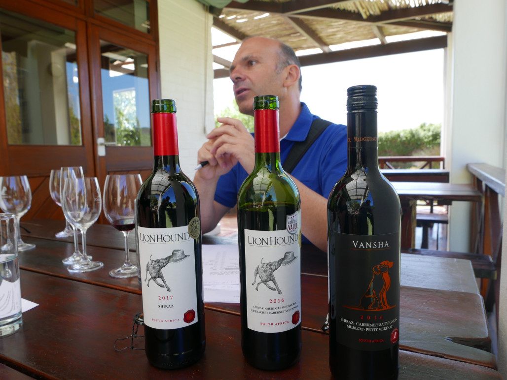 wijnproeverij Ridgeback