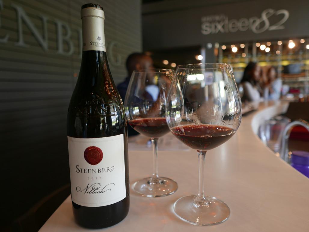 wijnbar in zuid-afrika