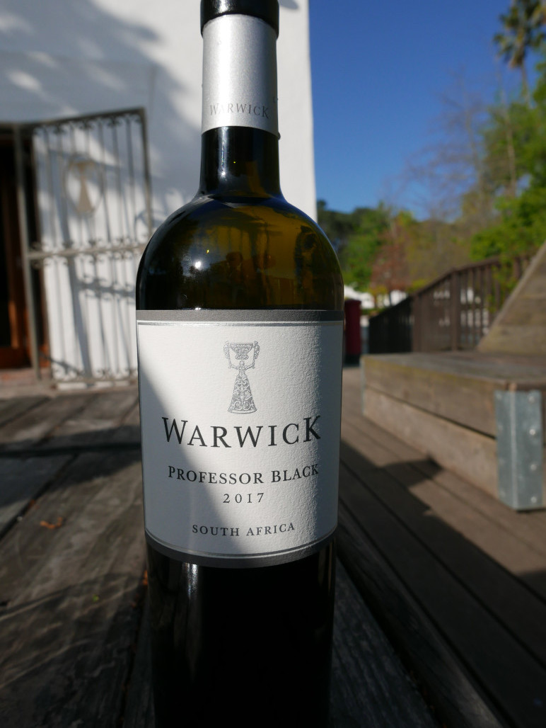 Warwick Professor black, best white wine south africa