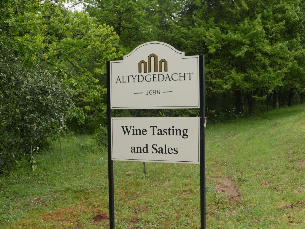 wijndomein Altydgedact Zuid-Afrika