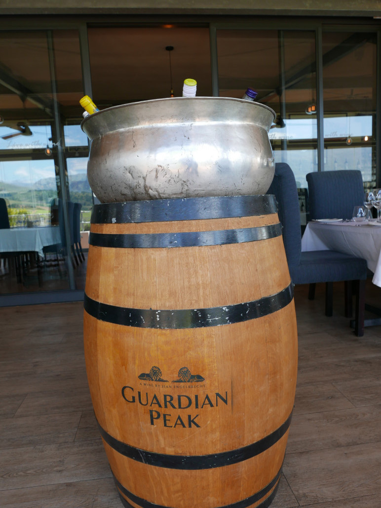 Guardian Peak restaurant