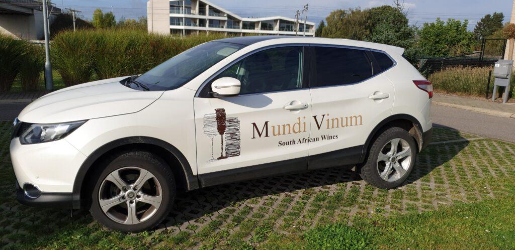 reclame voor wijnhandel