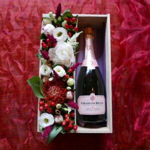 wijn voor moederdag bestellen - bubbels voor moederdag - graham beck brut rosé