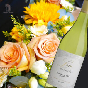 almenkerk lace sauvignon blanc wijnhandel leuven herent veltem bertem bloemist florist bloemstuk webshop