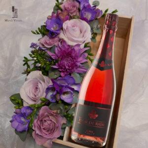 cava flor de raim brut rose vila clara picaire wijnhandel leuven herent winksele bertem lekkere en goedkope cava bestellen