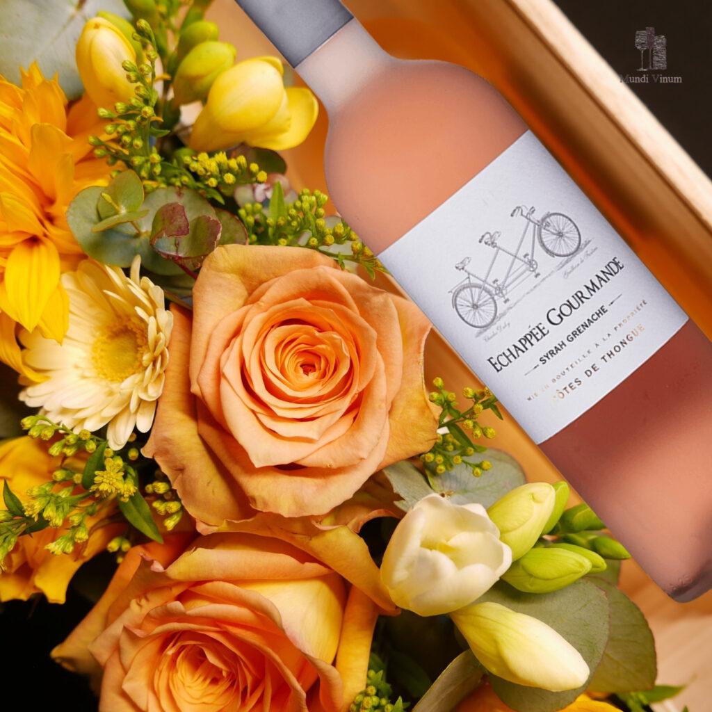 lekkere rose bestellen online wijnhandel leuven herent bertem veltem winksele bloemstuk florist bloomdesign mundi vinum webshop boeket