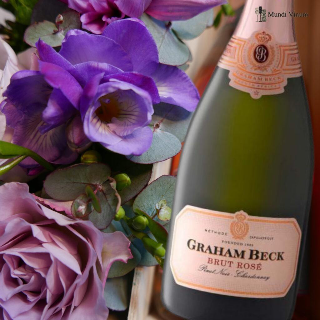 rose wijn bubbels champagne vonkelwijn mcc brut wijnhandel leuven bertem herent bloomdesign bloemstukken florist